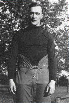 George Gipp, ready for the 1920 season, his best and last. It was almost the season that never was...