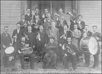 Notre Dame Band -- 1876 (University Archives)