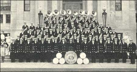 Notre Dame Band -- 1935